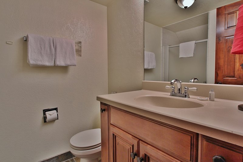 Downstairs bathroom with shower in Park City Racquet Club Village - Park City