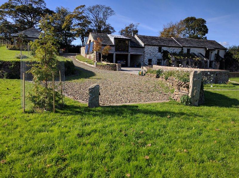 Trenedden Barn, South East Cornwall, casa vacanza a Lansallos