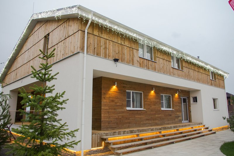 Chalet Yakroma - modern design villa, holiday rental in Dmitrovsky District