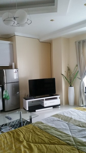 Grande tv digitale e frigo