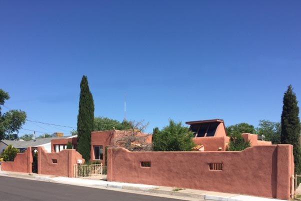 Old Town de adobe!