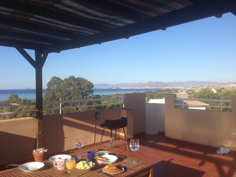 Rooftop Apartment in La Azohia, Costa Calida, Spain, location de vacances à La Azohia