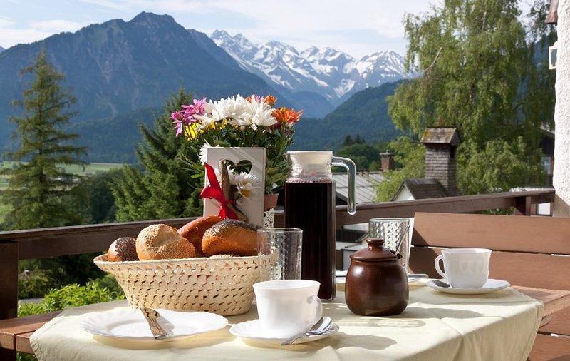 Kult Apartment - Gipfelkult, holiday rental in Ofterschwang