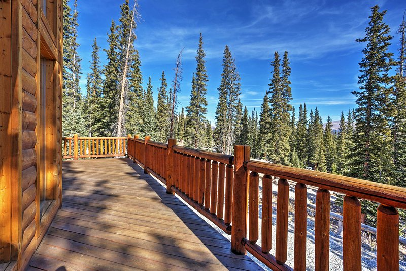 Experience the Colorado mountain retreat of a lifetime when you stay at this expansive Fairplay vacation rental home!