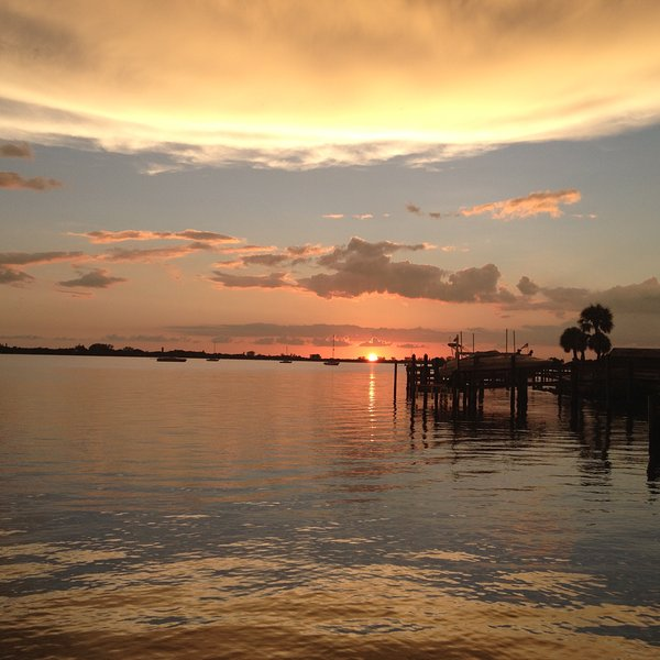 Sunset on Lemon Bay