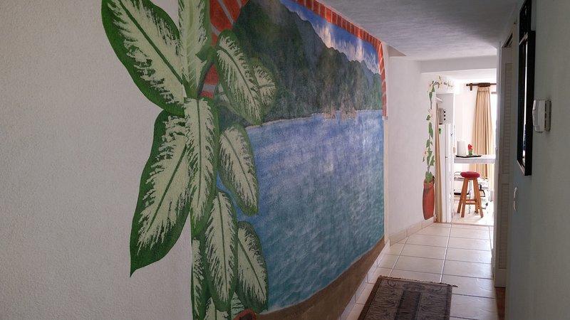 murale hall d'entrée