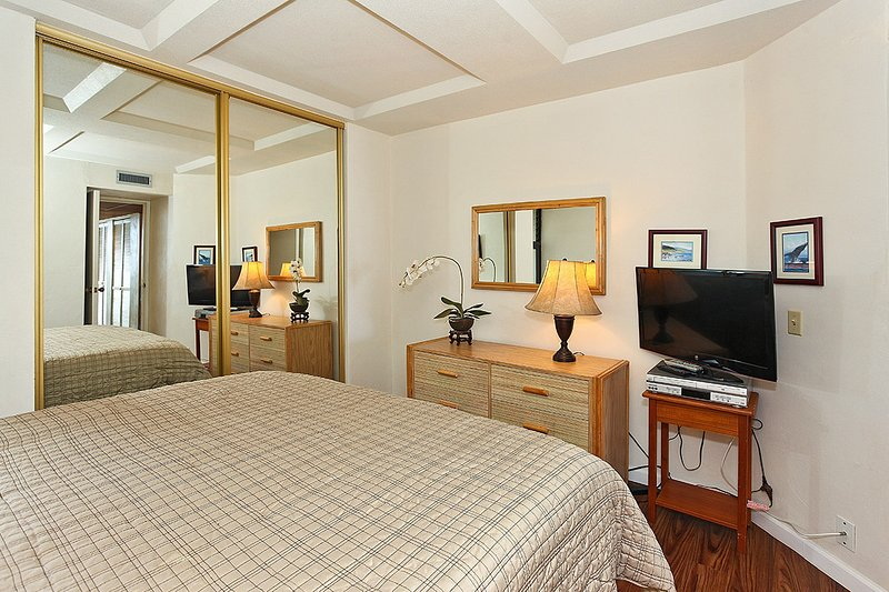 Comfortable Bedroom with a King Size Bed