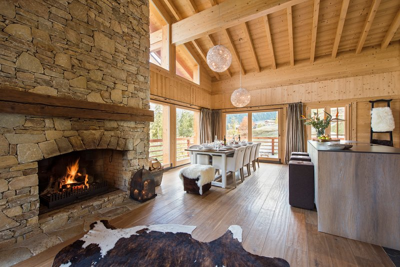 Cosy living at Chalet Alexia