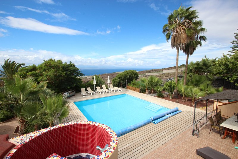 Apartments FIBAN, Finca SanJuan (Batista) with common heated Pool, holiday rental in Guia de Isora