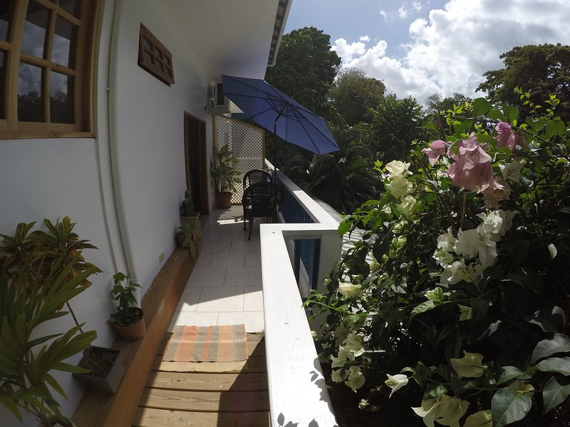 Jemas Guesthouse 2 bedroom apartment, holiday rental in Arnos Vale