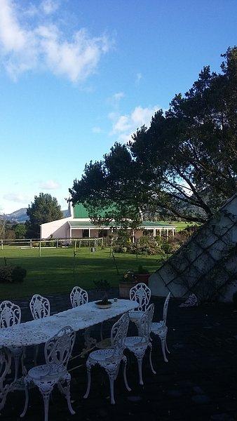 vista de Wayside Inn de la casa de campo en la misma propiedad