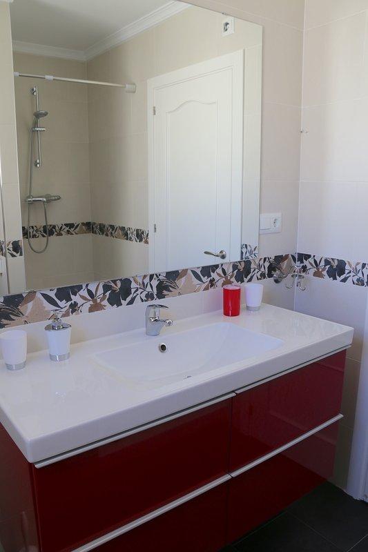 huvudsakliga badrum