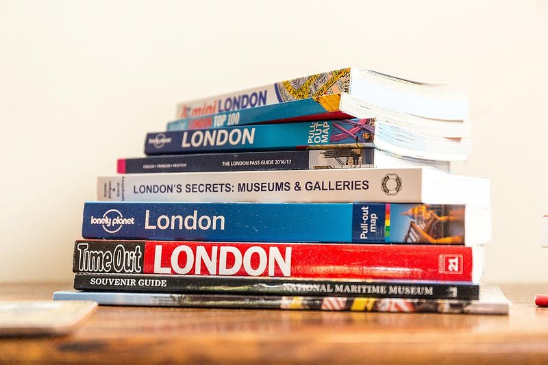 Guide books for your use during your stay