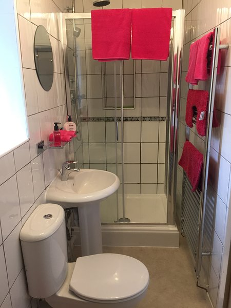 Newly fitted Double shower in Revamped Bathroom