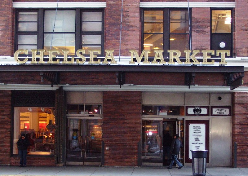 Chelsea Market is a neighborhood market with a global perspective.