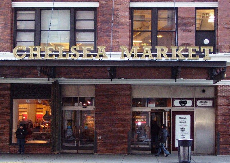 Chelsea Market es un mercado de barrio con una perspectiva global.
