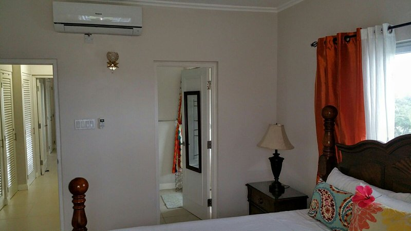 Master Bedroom with Ensuite which is fully Air-Conditioned