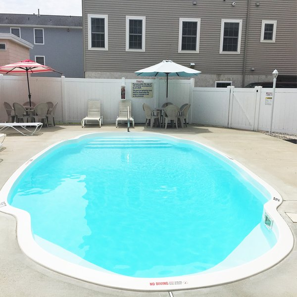 Heated Pool with (2) BBQ Grilles