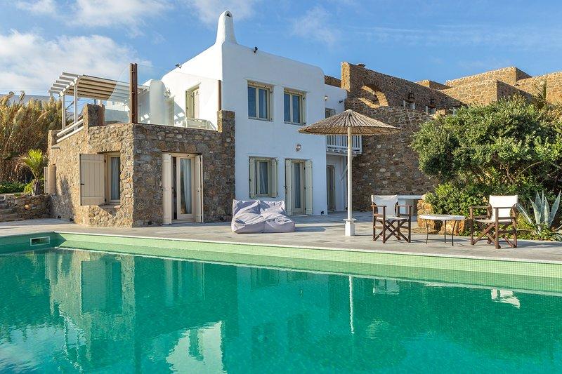 Mykonos Dream Villas - Villa Atalia, vacation rental in Marathi