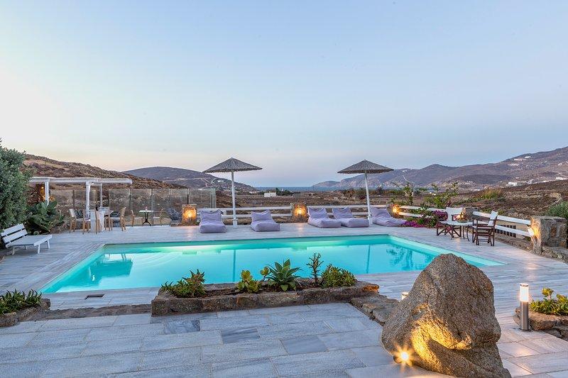 Mykonos Dream Villas - Villa Patroklos, vacation rental in Marathi