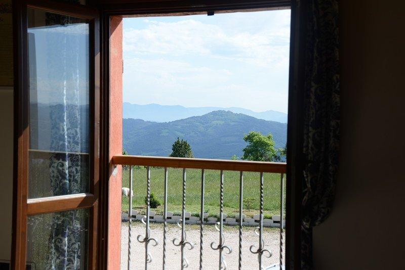 Colle Wonderland view from windows