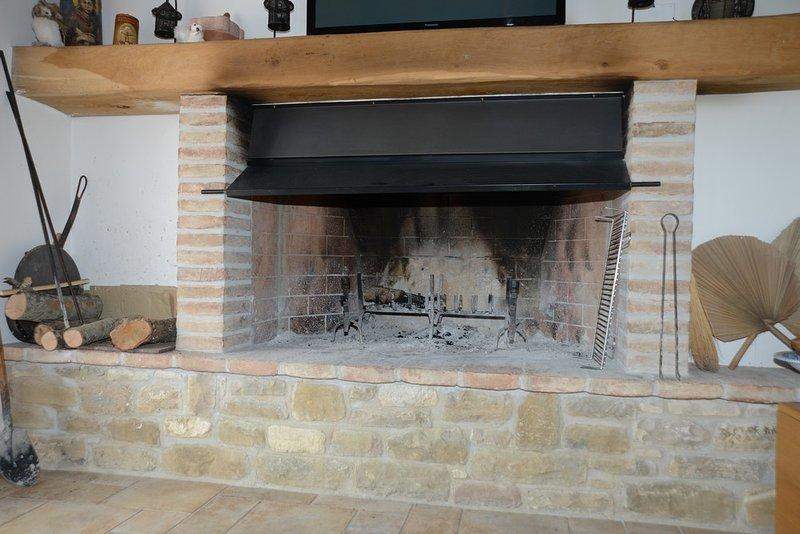 Wonderland Hill - Fireplace