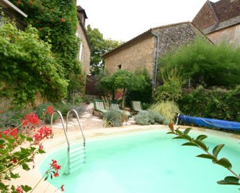 The lovely private and heated pool