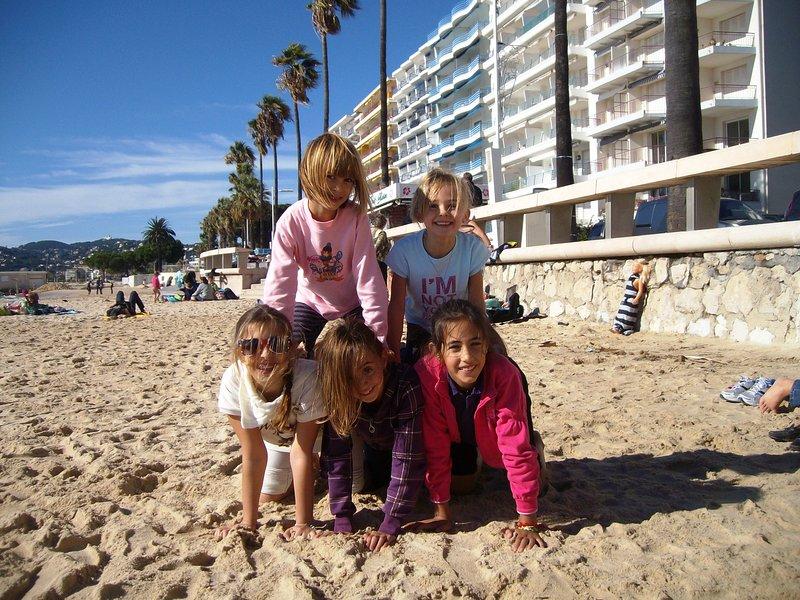 .Beach = espace grand et sûr pour les enfants