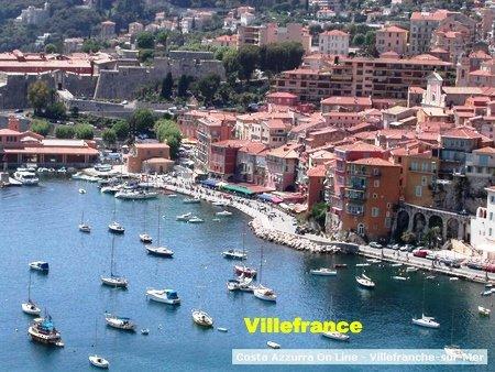 VILLEFRANCE SUR MER Une large baie entre Nice et Monaco où l'arrêt de croisière
