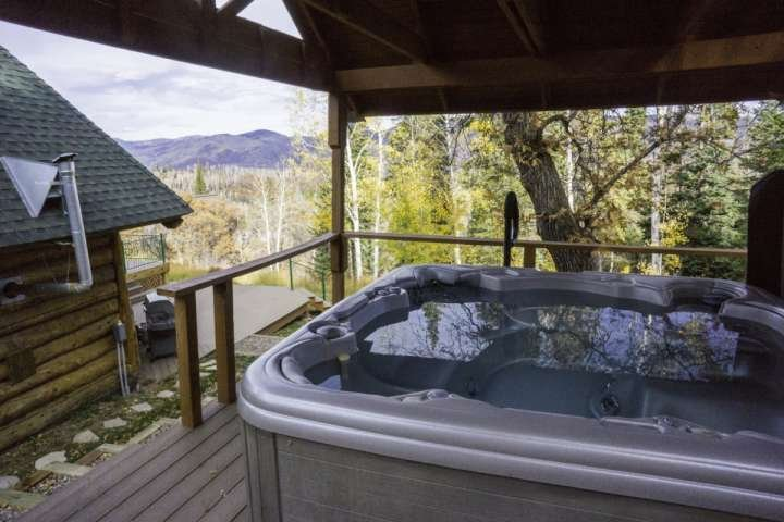 Soak, Relax and Enjoy the Amazing Views from the Hot Tub