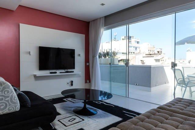 5 * Luxus Ipanema Beach Penthouse