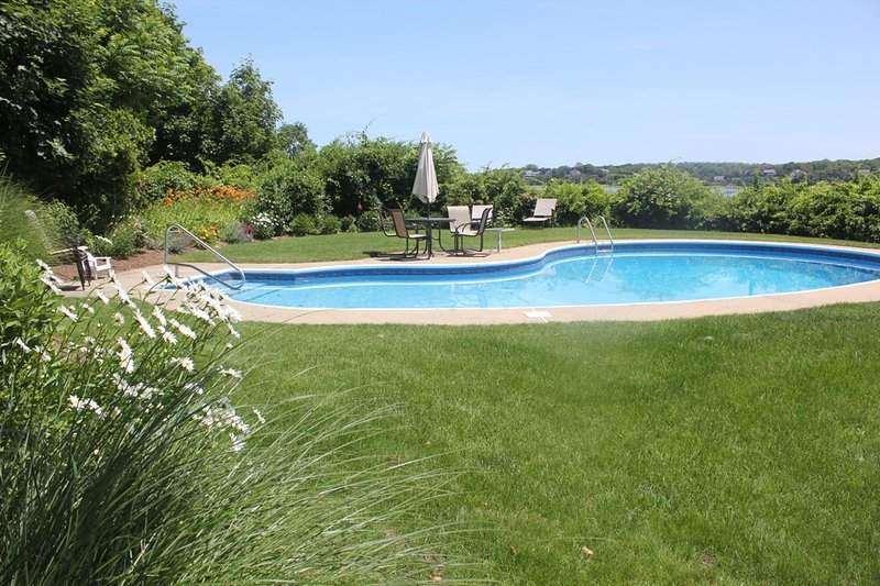 view of pool from the deck
