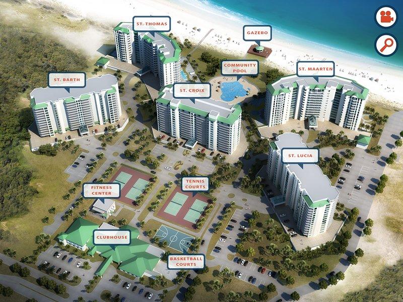 Aerial View,Hotel,Resort,Downtown,Neighborhood