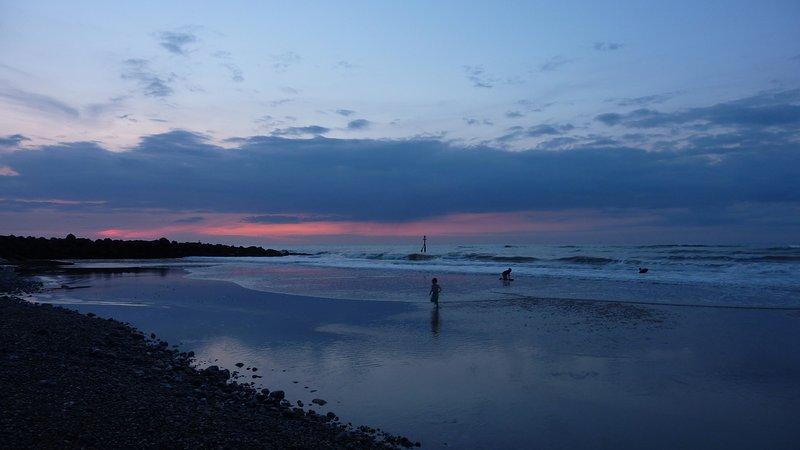 Sunset over a stunning Norfolk beach
