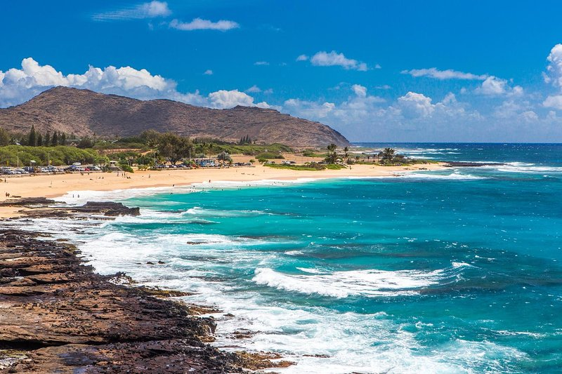 Just five minutes from the famous Sandy Beach!
