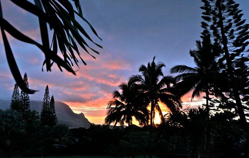 Enjoy a beautiful sunset.