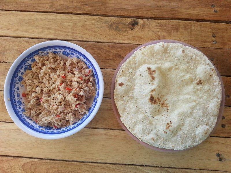 Maledivische Frühstück gegen Aufpreis erhältlich
