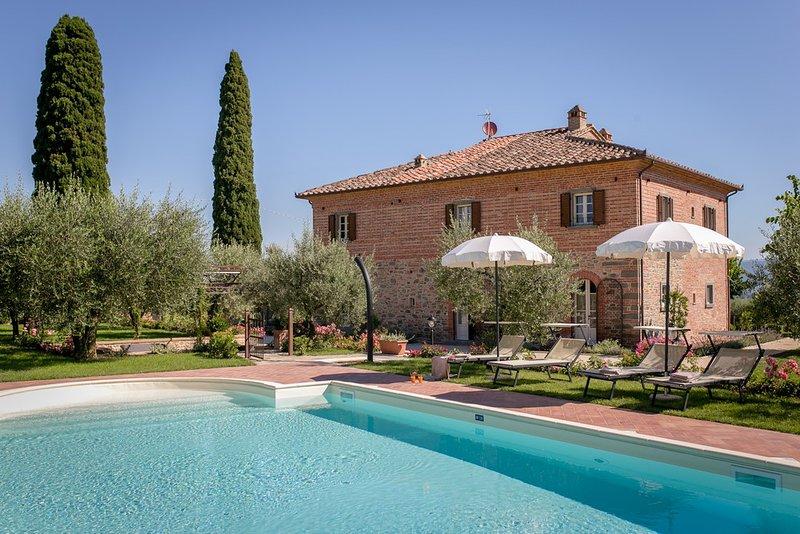 Villa Il Giardino di Diana, alquiler vacacional en Cortona