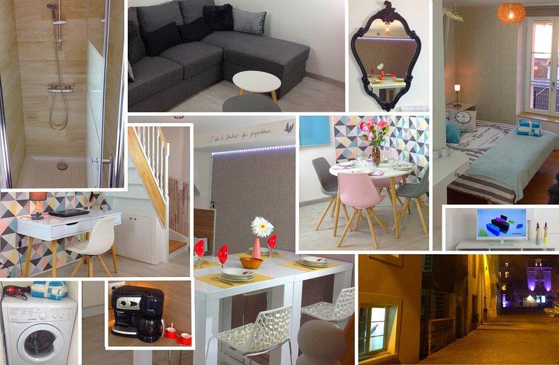 Triplex bel appartement de 50m2 sur trois niveau – semesterbostad i Caen