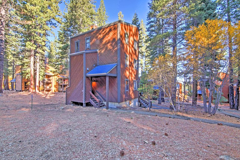 Let this condo serve as a home base for all of your Truckee adventures!