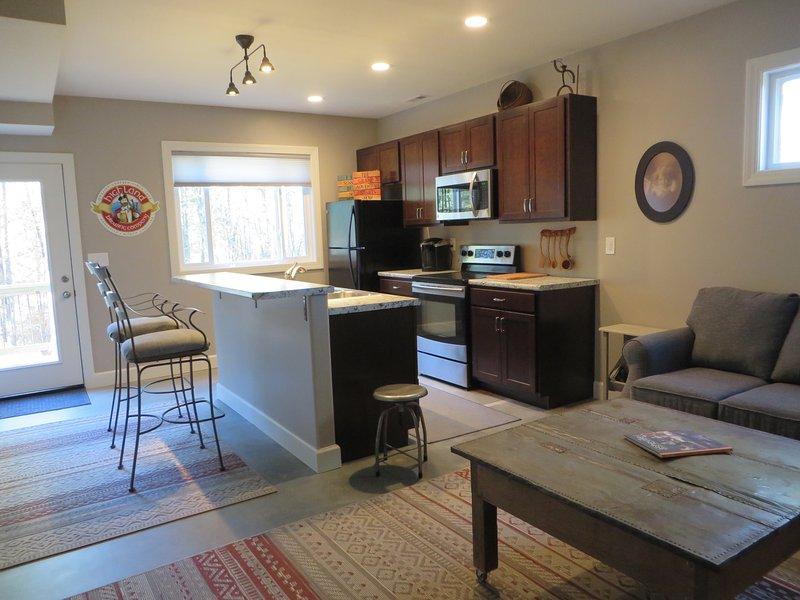 Open kitchen living area