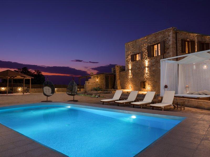 zone piscine extérieure