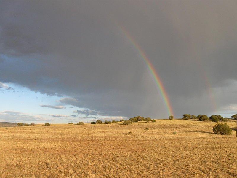 Abiquiu rainbow.