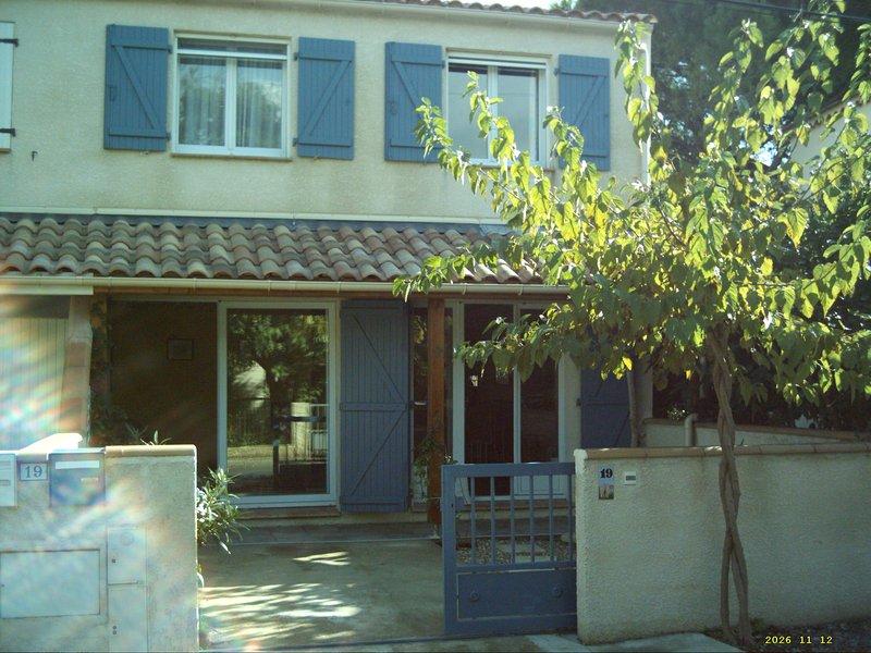 Belle Villa120 m² tout confort**** 200 m de la plage, 100 m des commerces, wifi, alquiler vacacional en Saint-Pierre-la-Mer