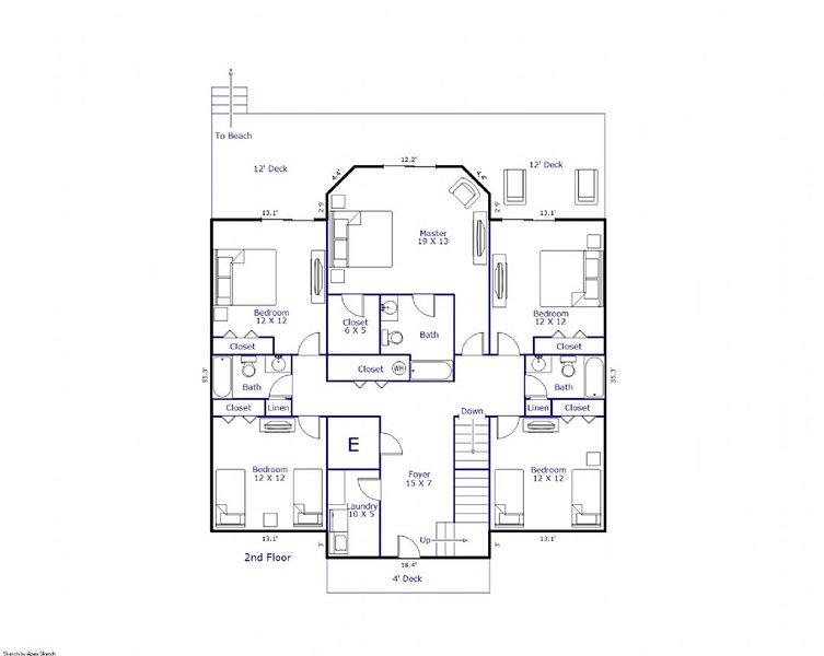 Floor Plan 2nd Floor