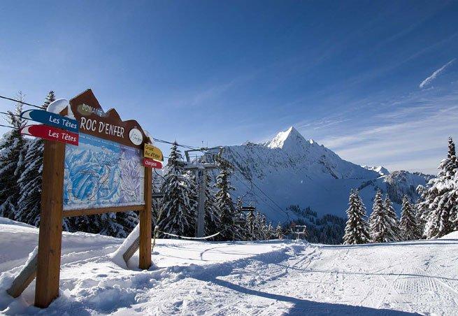 Die Ski-Station