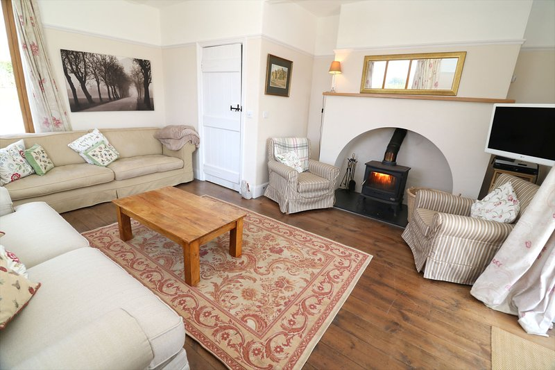 Croyde Holiday Cottages Broad De Lounge Area