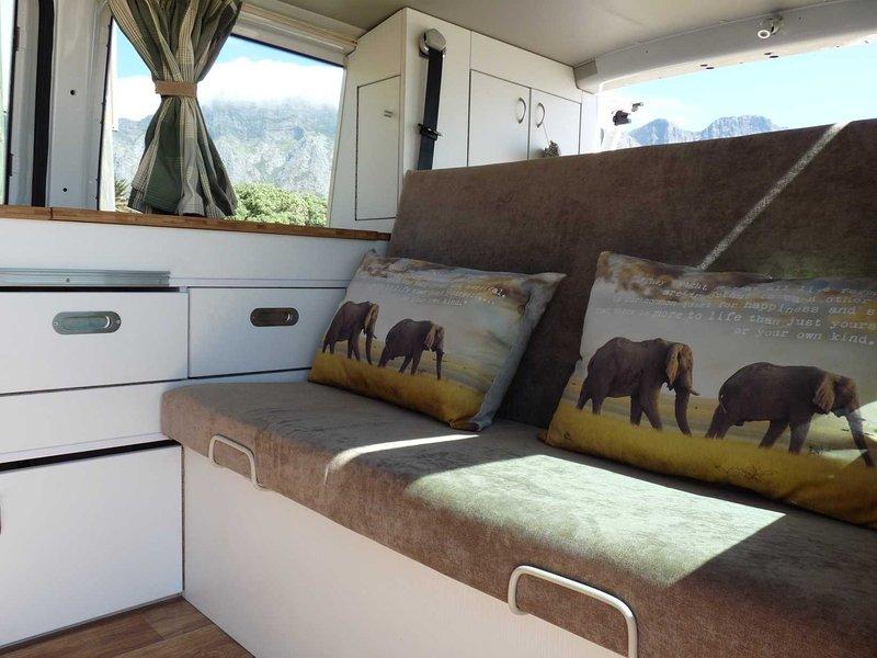 Lekker Camper | VW Campervan Hire, MPV, SUV & 4x4 rental in Cape Town, ZA, holiday rental in Parow