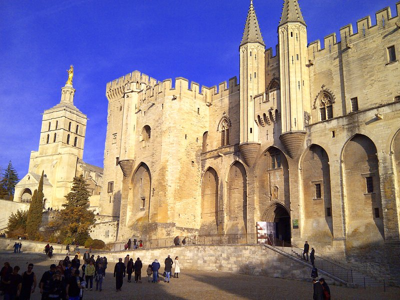 The Pope's Palace at Avignon
