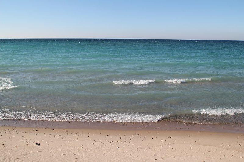 Incredibile spiaggia di Lake MI
